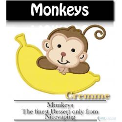 Monkeys Cremme Premium