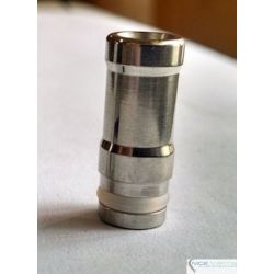 Drip Tip Metal Recessed Circle
