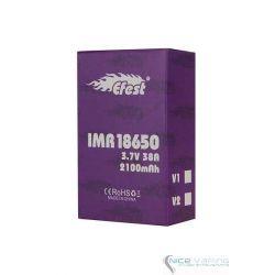 Efest 18650 Flat Purple 2100mah 38A