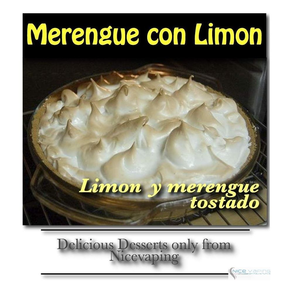 Merengue Italiano con Limon Premium