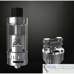 Griffin RTA 3.5ml SS Geekvape. Clapton Compatible. Liquid Flow Control