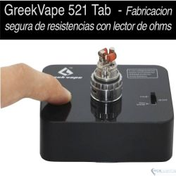 521 Tab Ohmetro & Mod 18650 por GeekVape