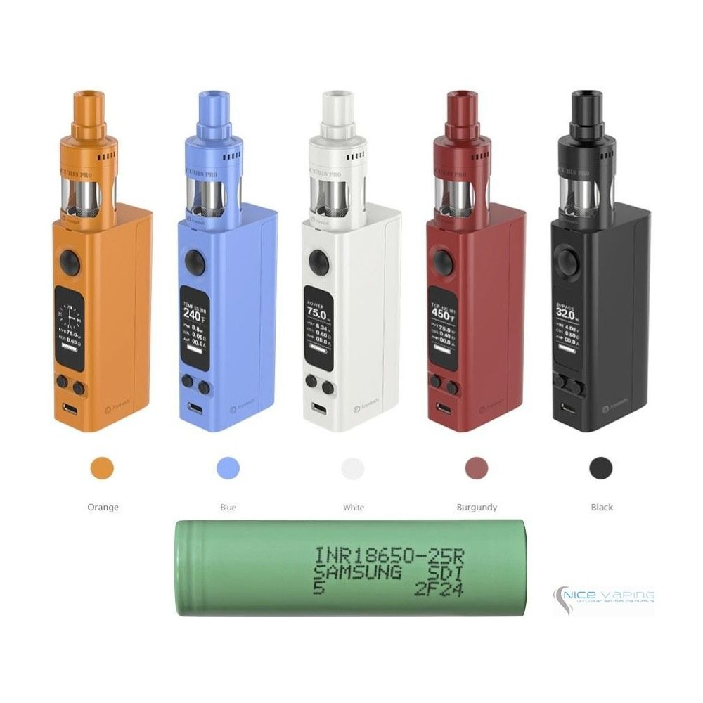 eVic VTwo Mini with CUBIS Pro 75W by Joyetech Upgradeable