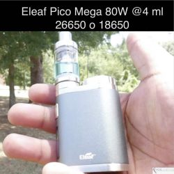 Eleaf Pico Mega 80W, 4 ml