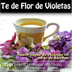 Te de Flor de Violeta  Premium
