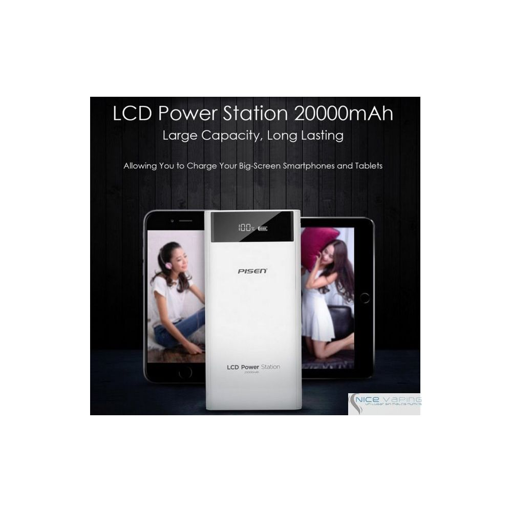 Power Bank - Pisen, 20,000 mah