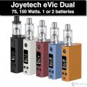 eVic VTC Dual ULTIMO KIT 75, 150W by Joyetech, Upgradeable
