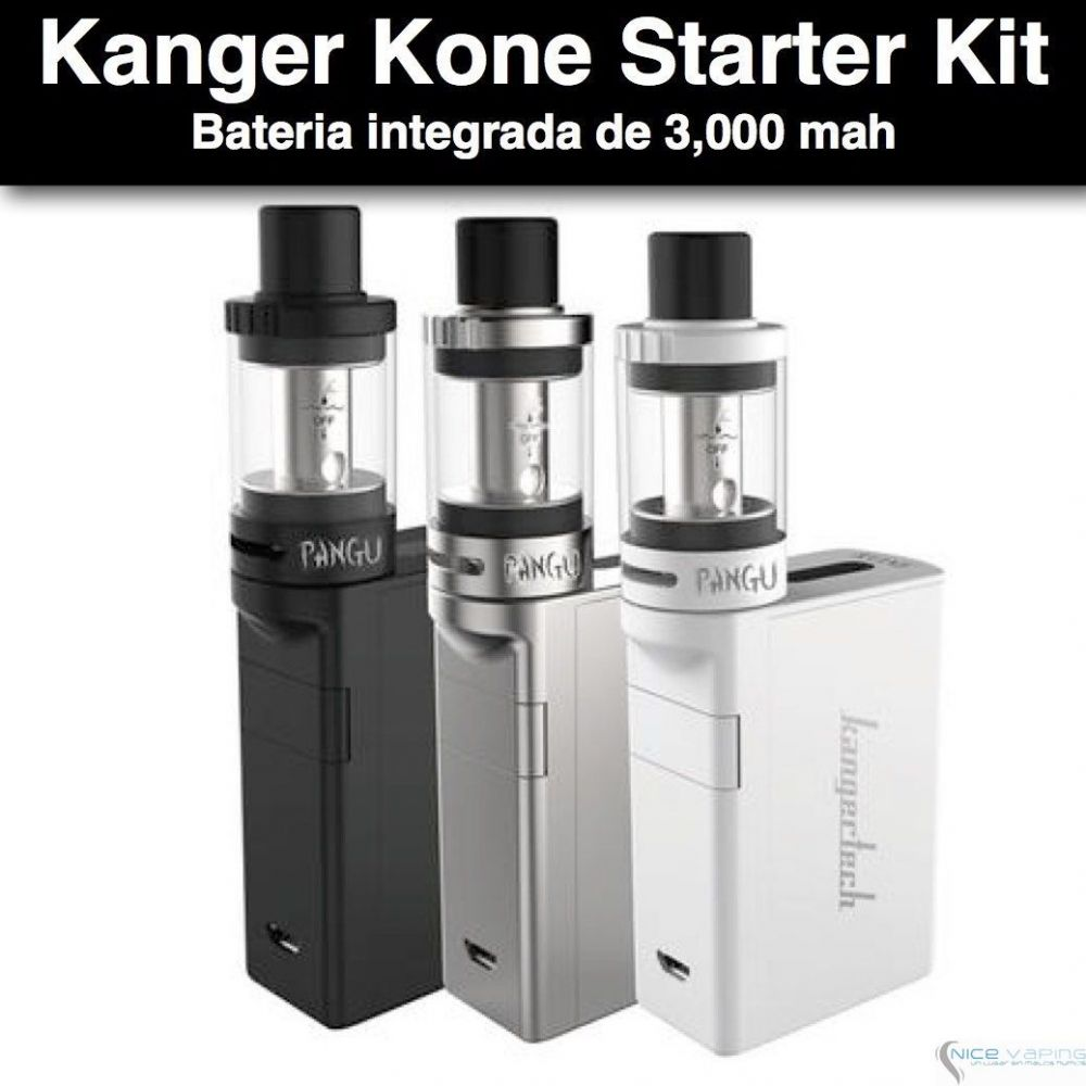 Kanger Kone Starter Kit - 70w, 3ml
