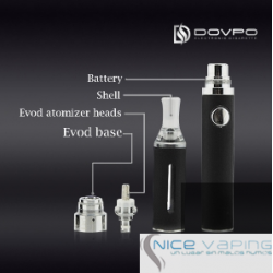 EVOD 650m Ah Kit Doble