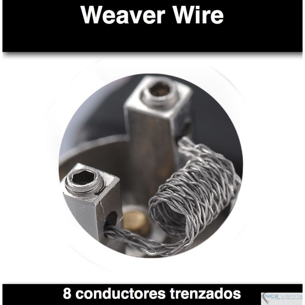 Kanthal A1. Clapton Wire