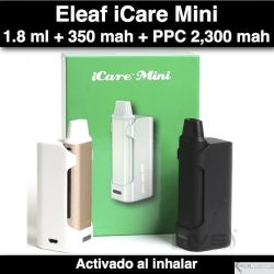Eleaf iCare kit - 1.3ml, 320 + 2,300 mah PCC