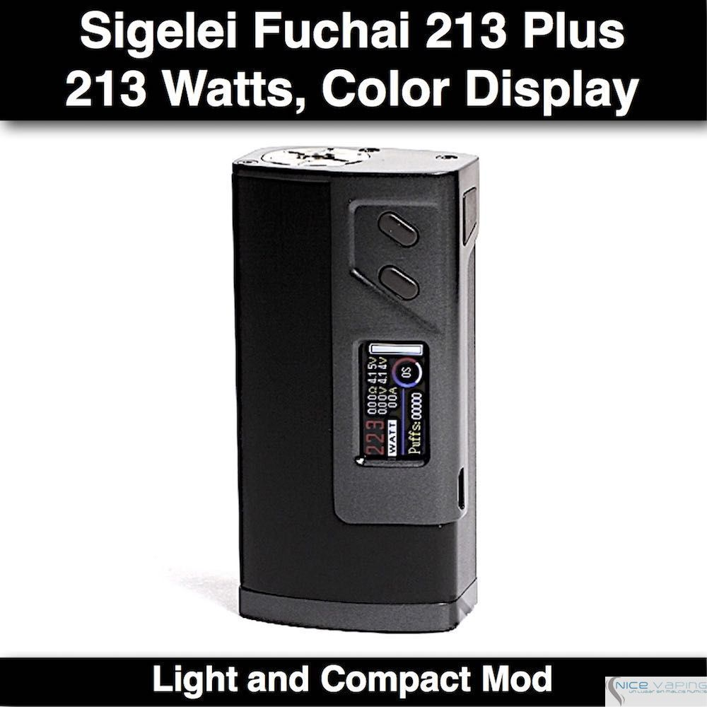 Sigelei Fuchai Plus 213W
