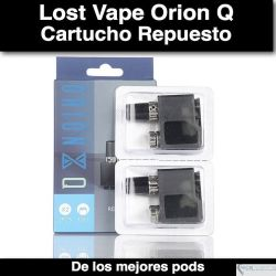 Cartucho LOST VAPE ORION Q QUEST 1.0OHM 2ML