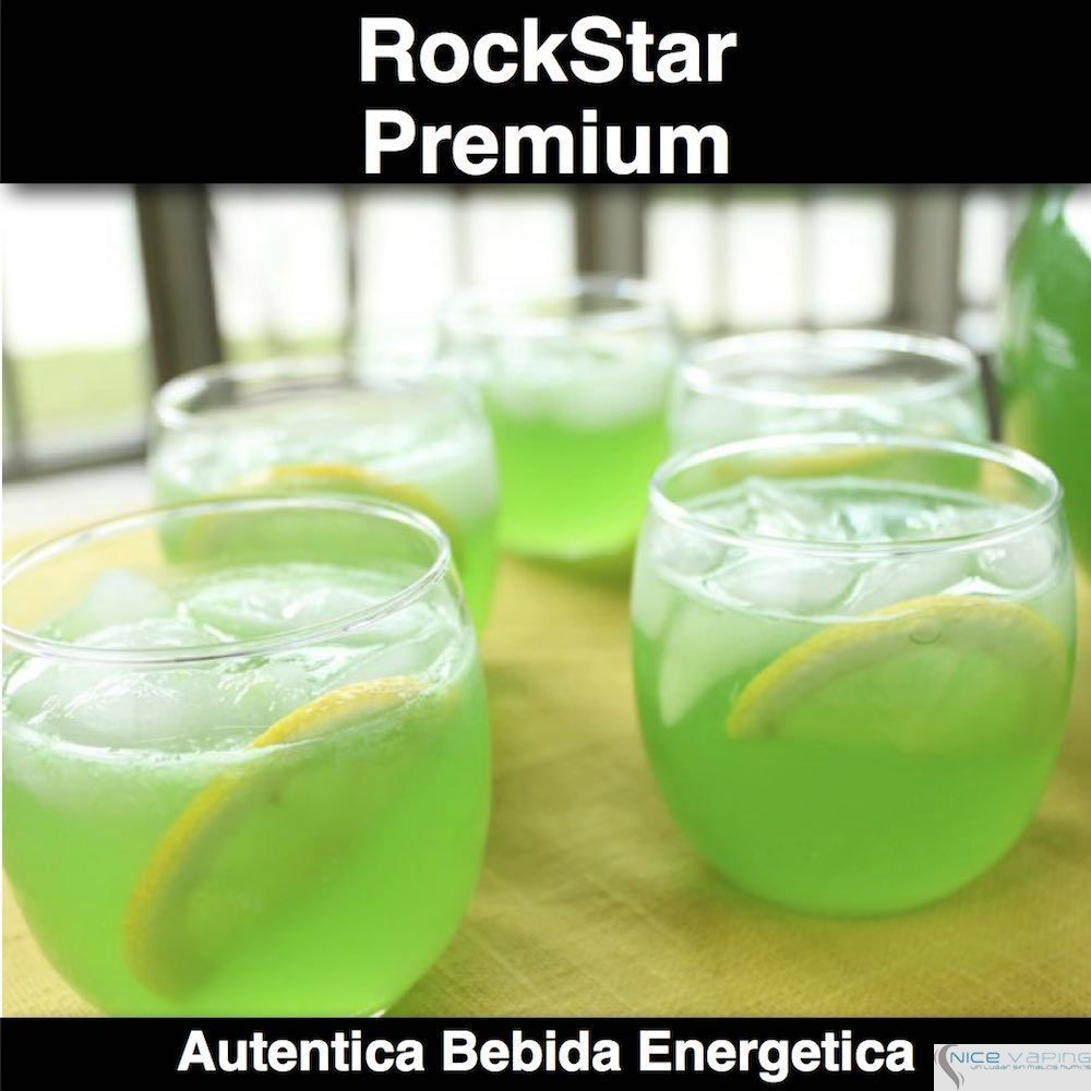 RockStar Bebida Energetica Verde Premium