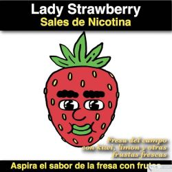 Strawberry Kiwi (Sal de Nicotina)