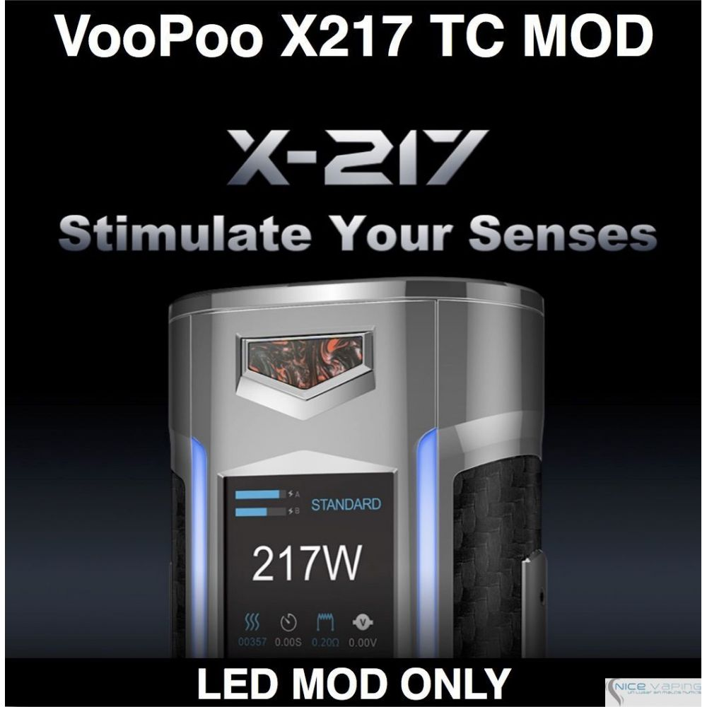 VooPoo X217 TC MOD