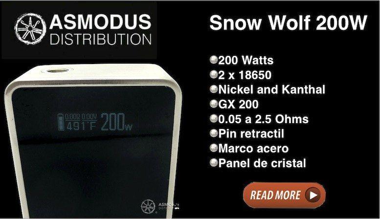 Snow Wolf, una bestia de vapor