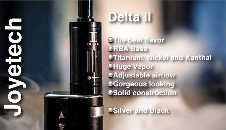 Delta II, unmatched flavor by Joyetech