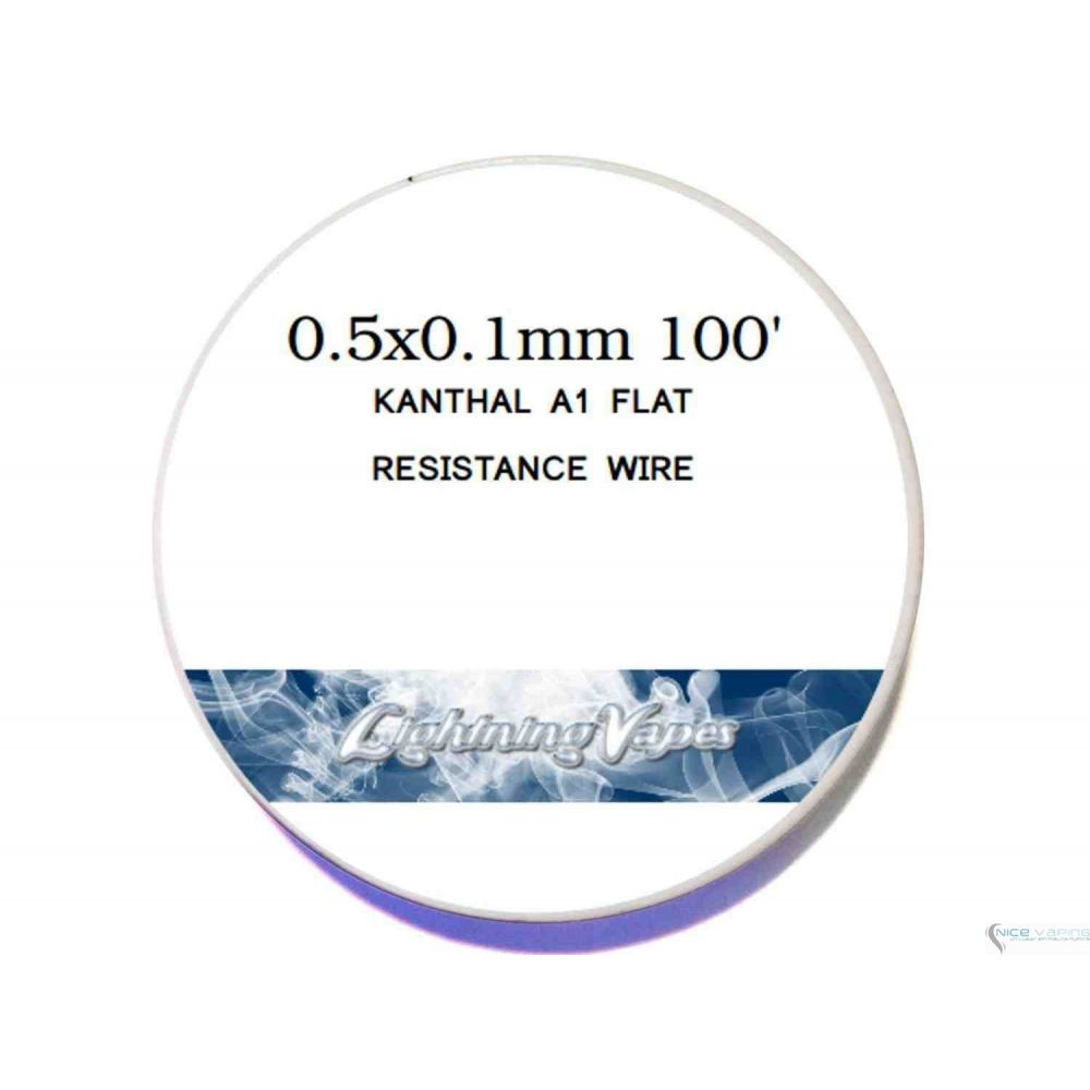 Kanthal A1. Flat Resistivo - Lighting Vapes