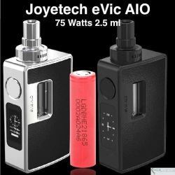 Joyetech eVic AIO Kit 75W, 2.5ml + LG Battery