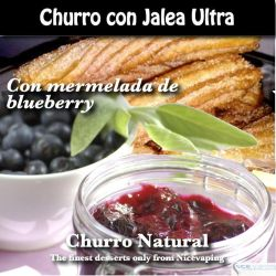 Churro con Mermelada de Blueberry Ultra