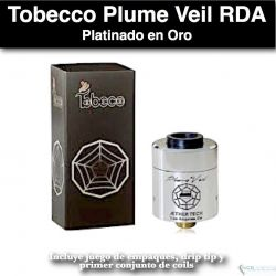 Plume Veil RDA with Drip Tip- Tobecco