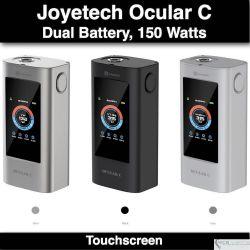 Ocular C TC 150W Touchscreen by Joyetech - 2 baterias