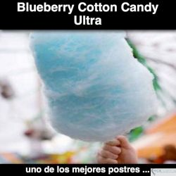 Sweet Blueberry Cotton Candy ULTRA
