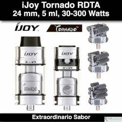 iJoy tornado RDTA @ 30-300W, 5 ml