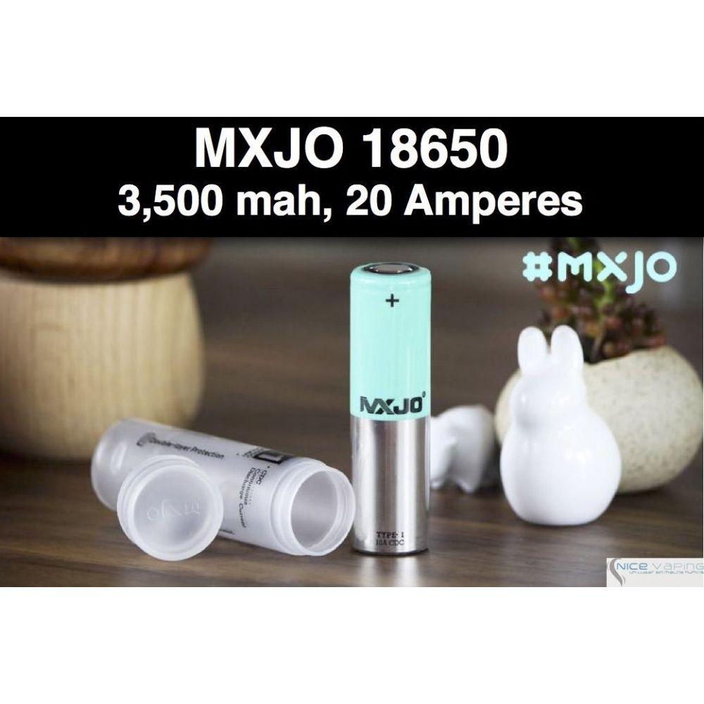 MXJO 18650 Flat Green 3500mah 20A