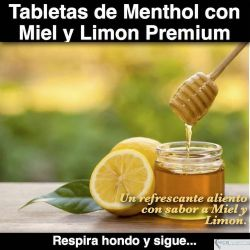 Menthol Honey & Lemon Premium
