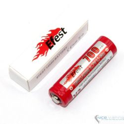 Efest IMR 14500 700mAh LiMn High Drain battery button top